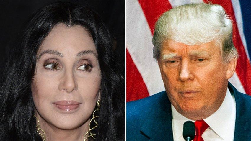 Cher-Donald-Trump