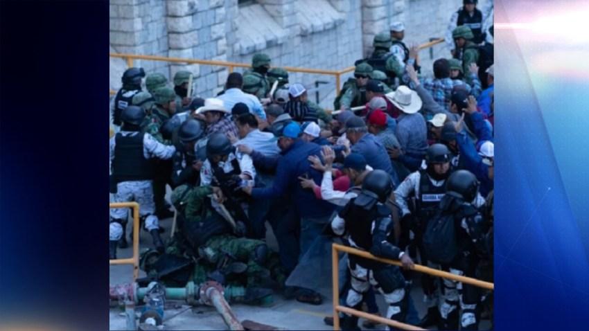 Agricultores de Chihuahua enfrentan a la Guardia Nacional