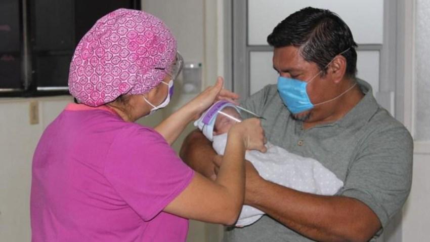 Bebé milagro es dado de alta en Coahuila