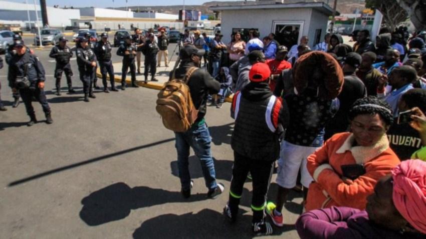 mexico-tijuana-protestas-haitianos-africanos