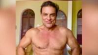 Con casi 60 años, Osvaldo Ríos enciende las redes con sensuales fotos
