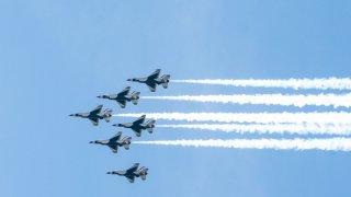 Thunderbirds de la Fuerza Aérea