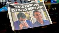 Demandarán a Bolsonaro por tener COVID-19 y quitarse el tapabocas frente a la prensa