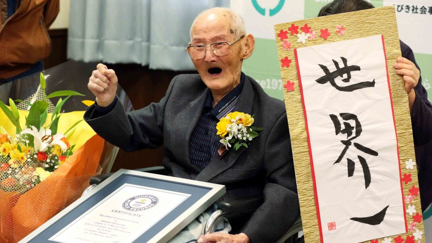Hombre mas viejo del mundo