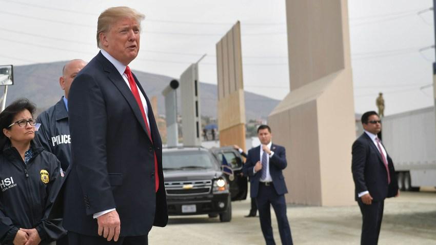 Trump y el muro fronterizo
