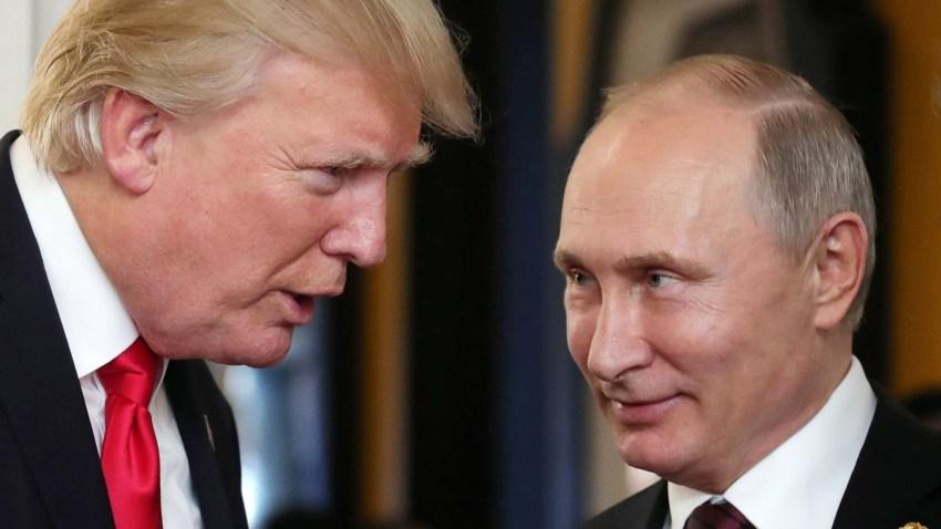 Trump y Putin juntos