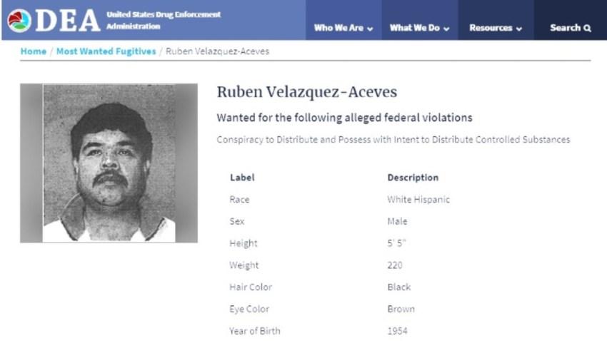 Ficha de la DEA sobre narco mexicano
