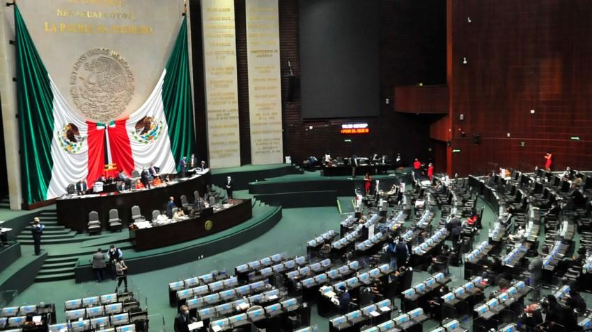 Sesión diputados mexicanos