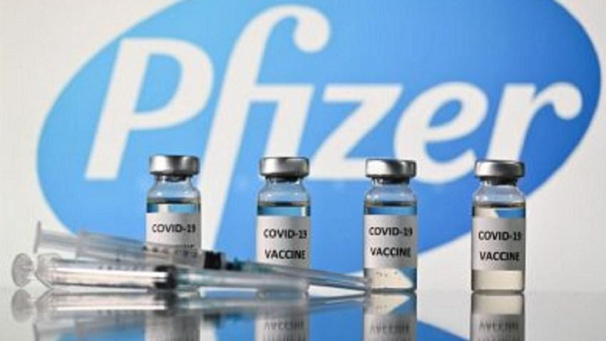 Imágenes de la vacuna de Pfizer contra la COVID-19