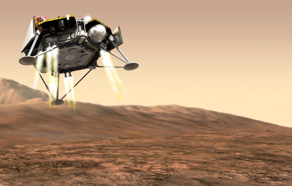 Historic: NASA rover reaches the surface of Mars