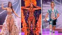 Miss Universo: los trajes típicos de algunas latinas, que deslumbraron, y mostraron la riqueza cultural de su país