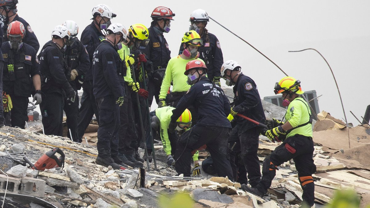 Apartment Complex Collapse in Miami: What technology are rescuers using?