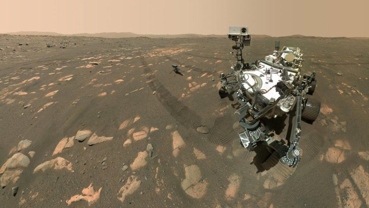 How NASA's Perseverance rover took a selfie on Mars? We explain
