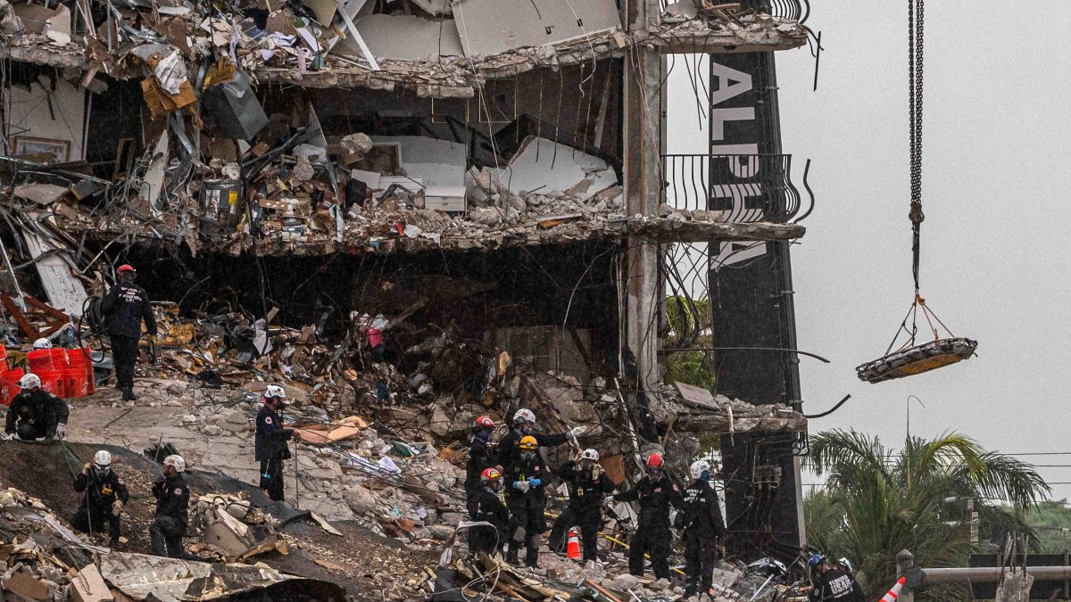 Miami Building Collapse: Were there any signs that the collapse was going to occur?