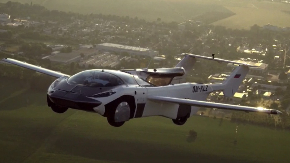From the highway to the skies: the car that becomes an airplane in just 3 minutes