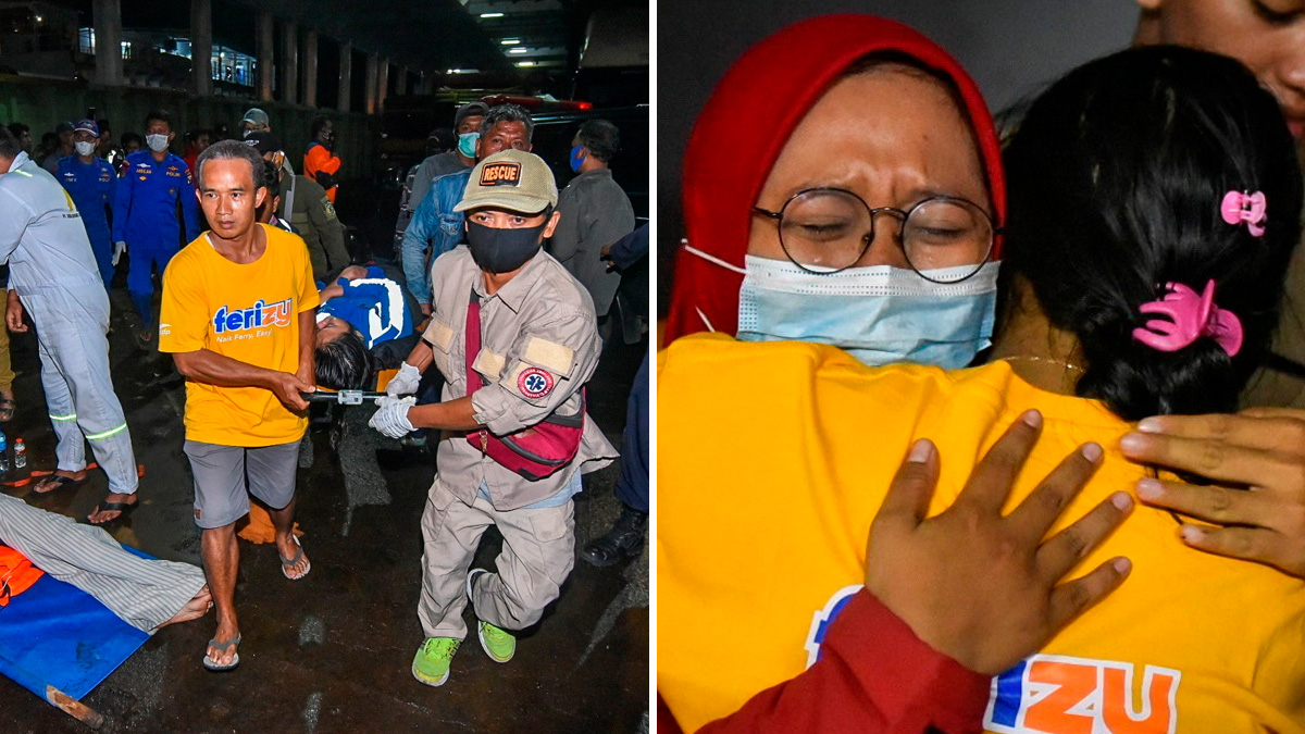 Indonesia: Ferry full of people sinks, there are dead and missing