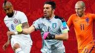 [FIFA2018] Italia, Holanda, Estados Unidos, Chile tendrán que esperar cuatro años para poder volver a pelear un lugar en una justa mundialista.