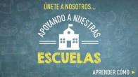 Apoyando a nuestras escuelas