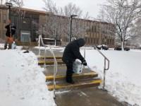 Algunas imágenes de la nevada que se vivió el viernes 18 de enero del 2019 en Denver, Colorado.