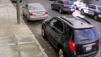 MASSACHUSETTS - Un video de vigilancia capturó el momento en que un patrullero de la policía de Boston arrolló a una niña alrededor de las 7:00 p.m.