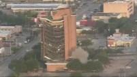 La ciudad de Pasadena, en Texas, implosionó la mañana de este domingo al FIrst Pasadena State Bank luego de años de abandono.