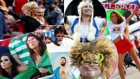 Los fanáticos le dan brillo a este Mundial y su creatividad abarca casi todo. La belleza en todas sus presentaciones o empaques, salta por todos lados en...