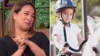 La conductota de Un Nuevo Día no pudo contener la emoción por un logro de su hijita de cuatro años. Para ver más de Telemundo...