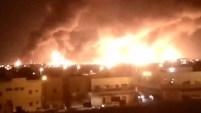 Varios drones bombardearon la planta, ubicada en Arabia Saudita, en el desierto.