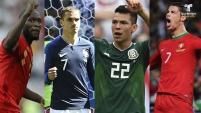 Concluyó la primera fase de la Copa del Mundo y algunos jugadores destacaron más que otros después de 16 partidos.