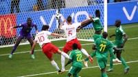 El senegalés Khadim N'Diaye dio su todo para asegurar la victoria 2-1 ante Polonia.