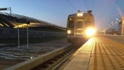 Fotos: Tren rápido al aeropuerto ya está sobre rieles