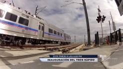 Cobertura del nuevo servicio de tren rápido en Denver