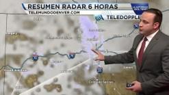 La tormenta se aleja de Colorado