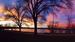 La belleza de Sloan's Lake a todo esplendor