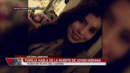 Joven de Denver entre víctimas de tragedia en Playa del Carmen