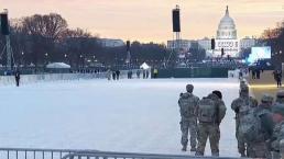 Washington DC amanece blindada por toma de posesión