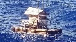 Odisea mar adentro: estuvo 48 días en una trampa flotante