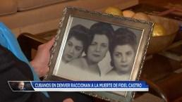 Una cubana en Colorado habla de la muerte de Fidel Castro