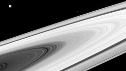 La NASA esta semana: los luminosos anillos de Saturno
