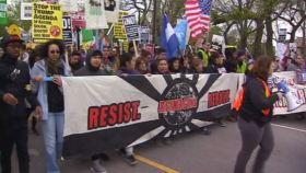 Marcha pro reforma en Chicago