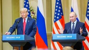 Putin envía saludo navideño a Trump y dice querer diálogo