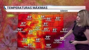 <p>Un fuerte frente frío llegará a Colorado provocando algunas tormentas en las tardes. Son posibles granizos, fuertes vientos y lluvias. También descenderán las temperaturas</p>