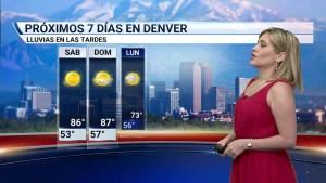 Durante el fin de semana las temperaturas estarán elevadas y sin lluvias