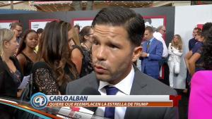 Carlo Alban se pronuncia ante controversia de estrella