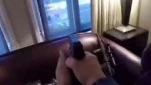 Horror: lo arrestan tras ensayar una masacre