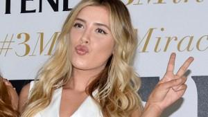 Michelle Salas, hija de Luis Miguel, es chica champú