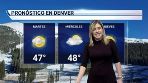 Influencia anticiclónica mantendrá el tiempo estable. Para el miércoles la nieve llegará a las montañas y a la ciudad para el viernes.