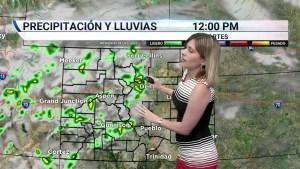 Condiciones nubladas y lluviosas en la tarde. Temperaturas por debajo del promedio