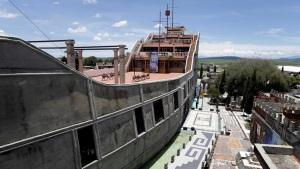 Por dentro: cómo es el increíble Barco de la Fe