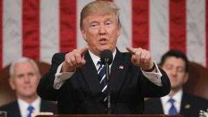 """Tras fracaso, Trump augura """"cosas buenas"""" en tema de salud"""